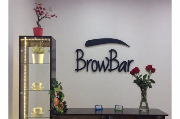логотип в интерьер для студии красоты