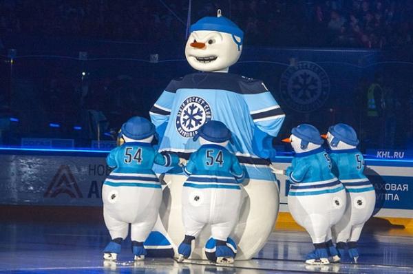 Объёмный талисман хоккейного клуба
