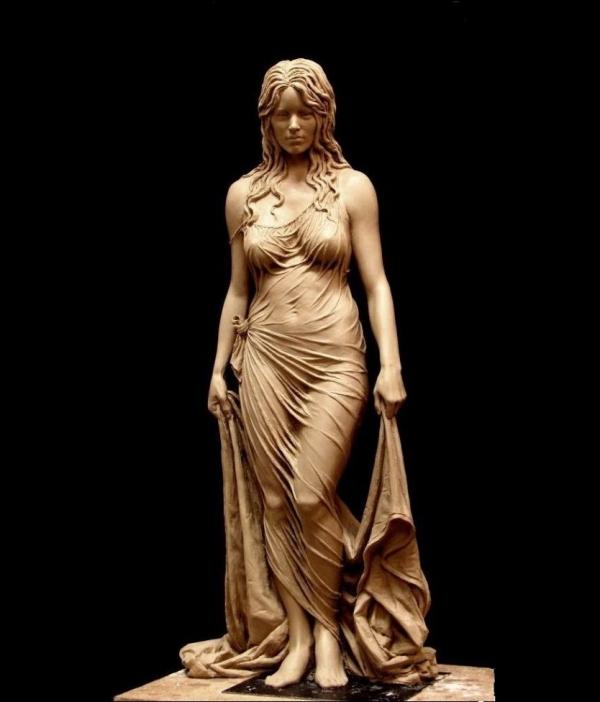 Женская скульптура Высота-1360 мм.