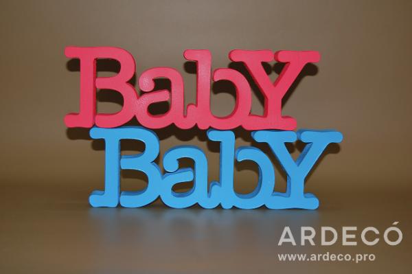 "Объемная надпись ""BABY"""