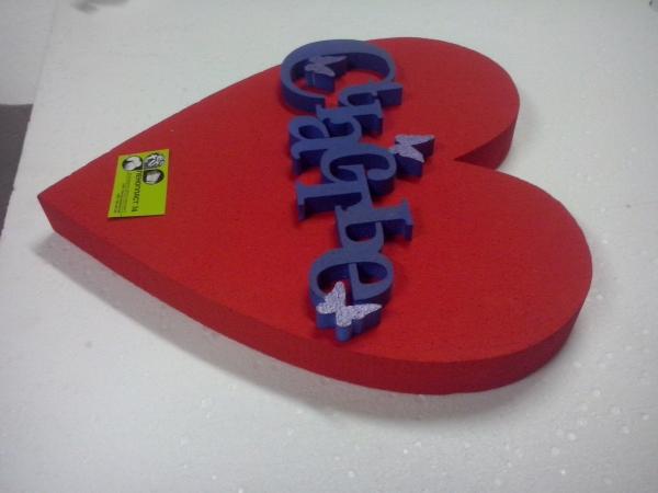 """Сердце ♡ """"Счастье"""" синее"""