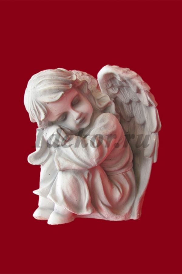 Бетонная скульптура Ангел малый