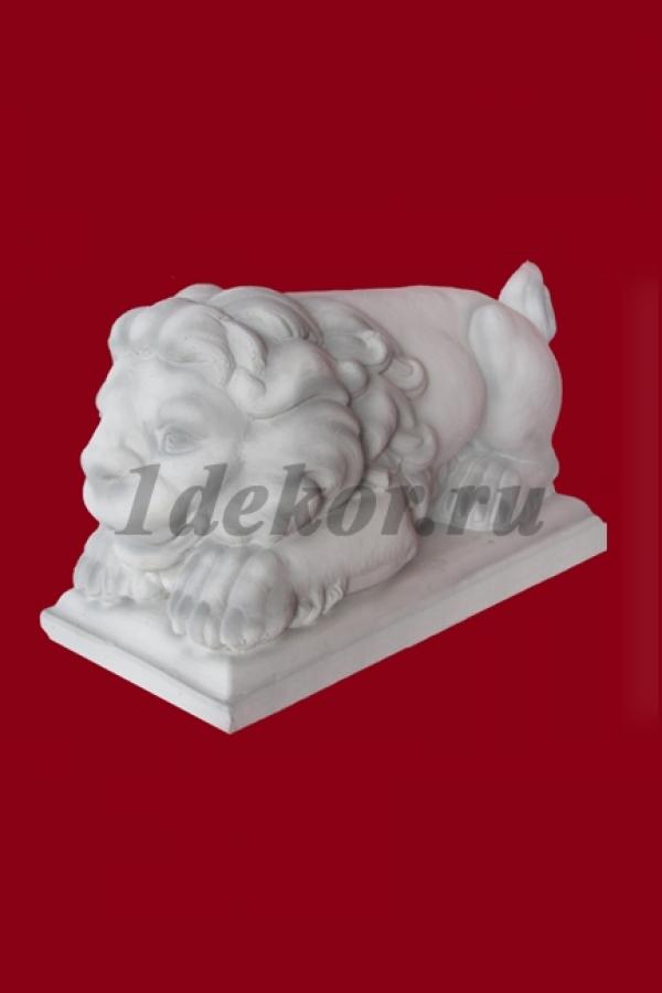 Скульптура из бетона садовая Львенок