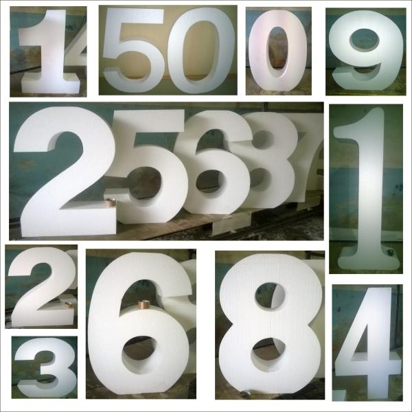 Объёмные цифры