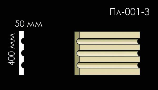 Пилястра с каннелюром